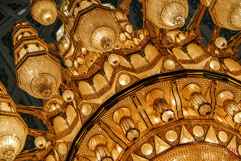 Voyage Oman photos - Chandelier