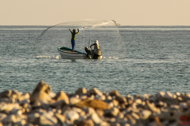 Oman pictures - fishermen