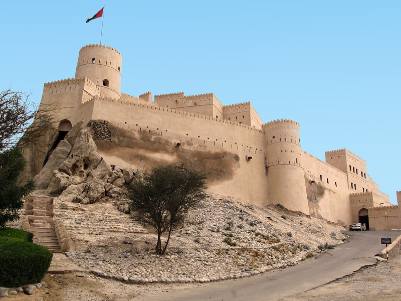 Oman Forts - Nakhal Fort