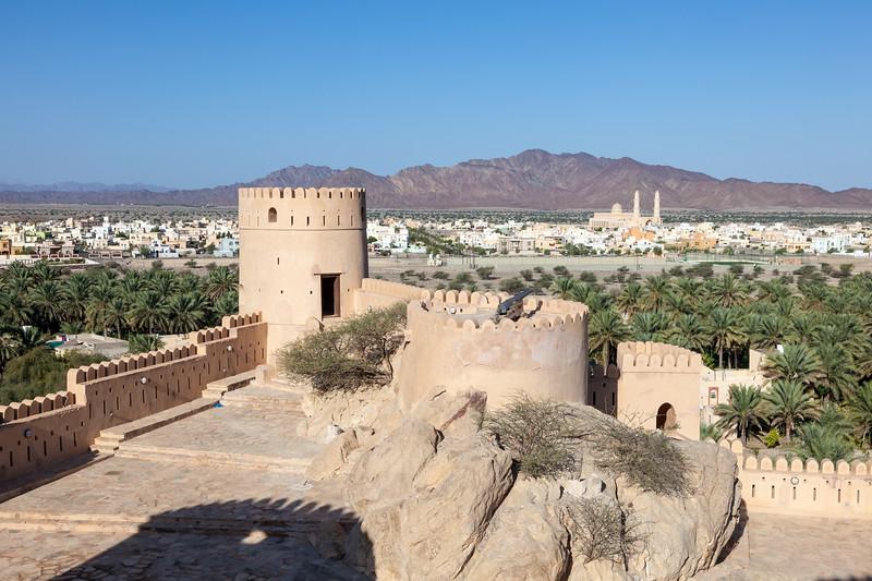 Nakhal Fort - Rustaq loop oman