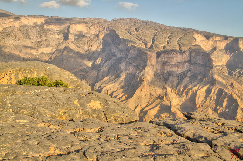 Jebel Shams Resort - Oman Grand Canyon Aussicht 3