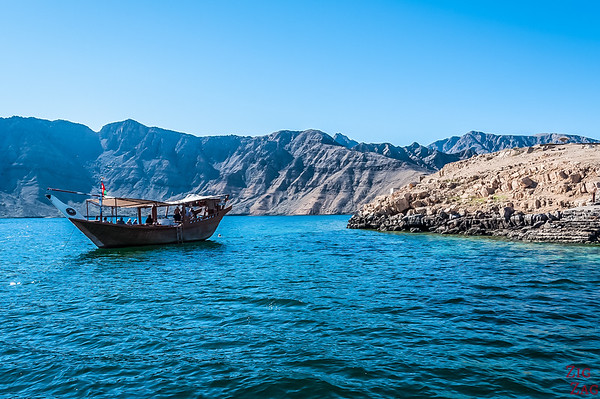 Where to go in Oman - Musandam peninsula