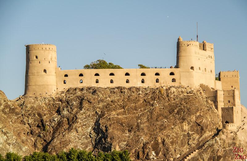 Oman fort - Al Jalali