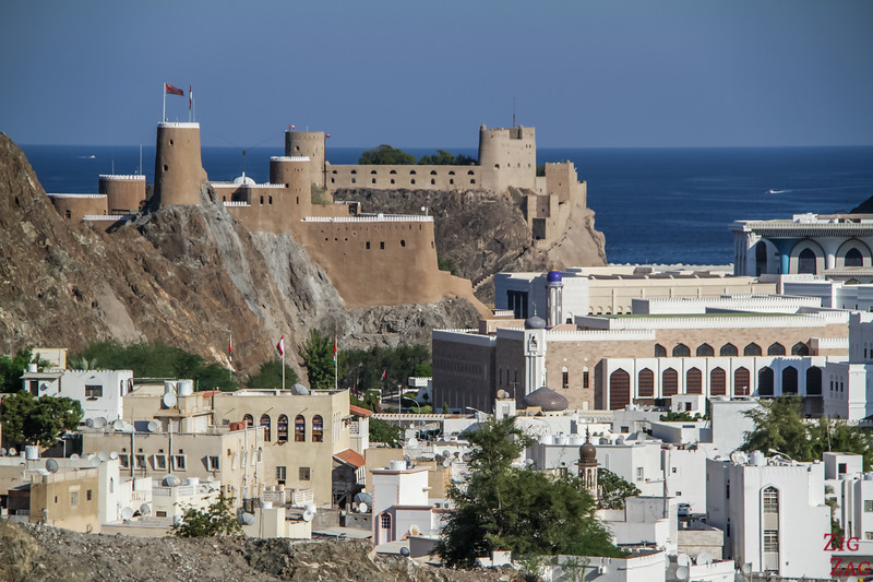 Portuguese forts - Muscat Oman 2