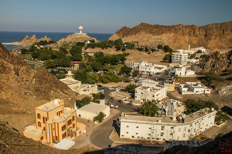 Hiking Muscat - view of Riyam 1
