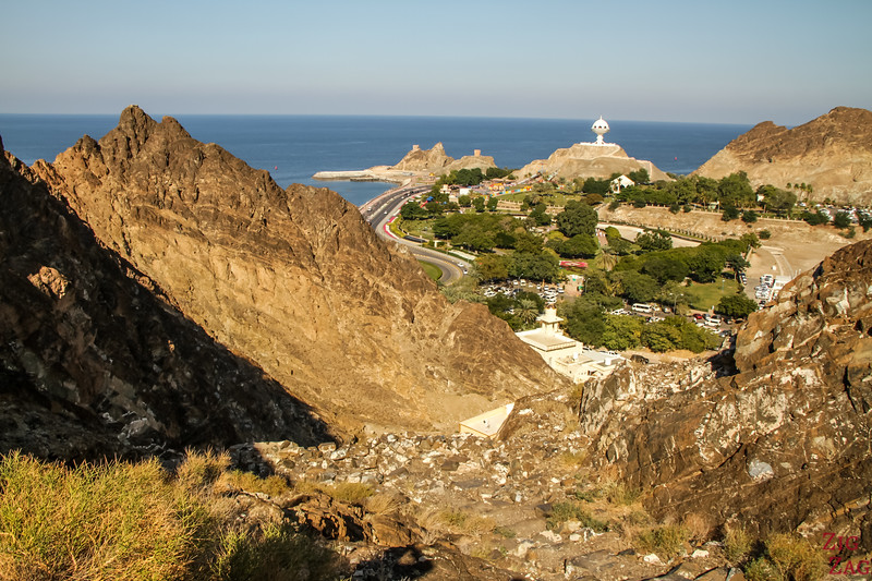 Hiking Muscat - view of Riyam 2