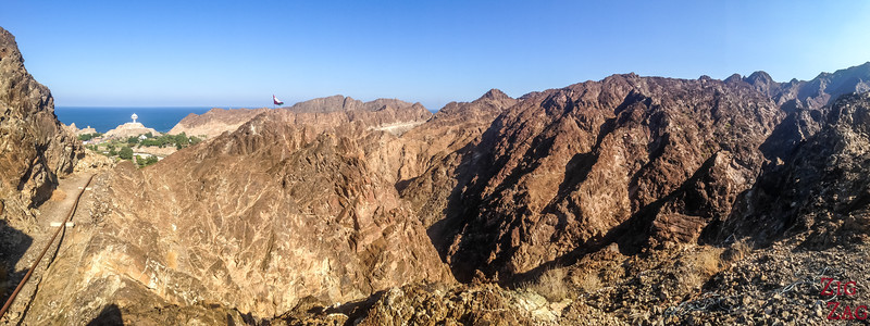 Hiking Muscat - view of Riyam 5