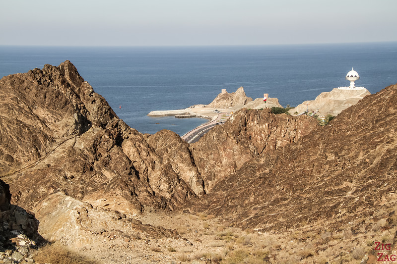 Hiking Muscat - view of Riyam 6