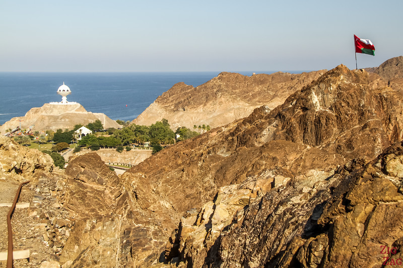 Hiking Muscat - view of Riyam 4