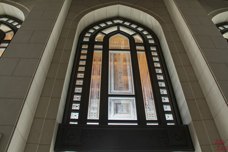 Royal entrance - Royal Opera House Muscat - Oman 2