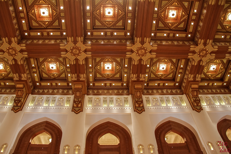 Main area - Royal Opera House Muscat - Oman 4