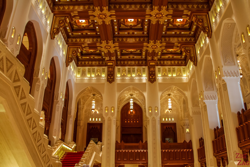 Main area - Royal Opera House Muscat - Oman 6