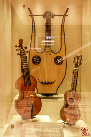 Musical instrument display - Royal Opera House Muscat - Oman 2