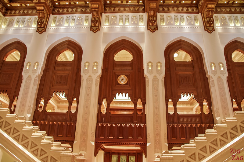 Hall - Royal Opera House Muscat - Oman 7