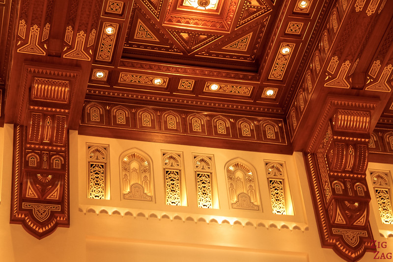 Hall -  Royal Opera House Muscat - Oman 8