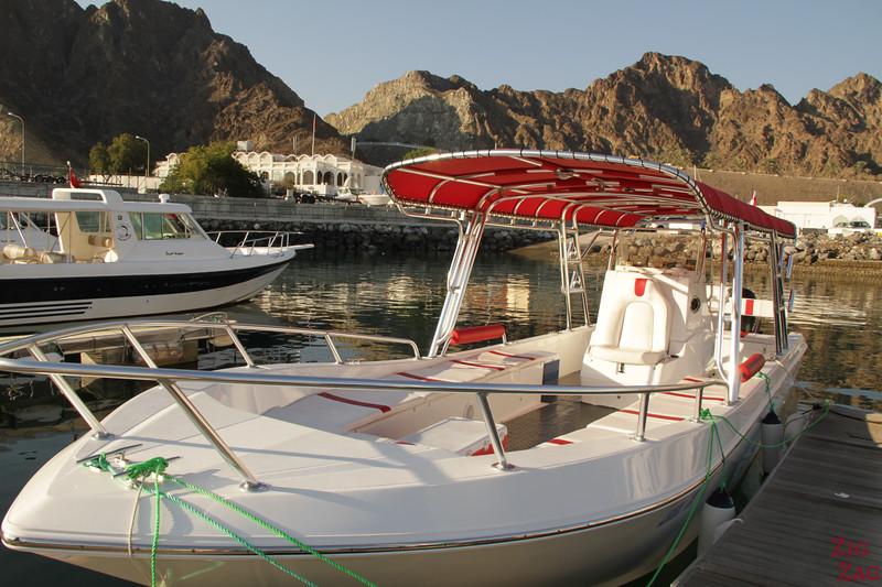 Boat at Marina Al Rowdha