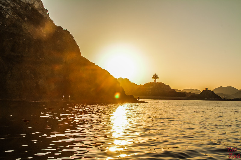 Oman day tour from Muscat to sunset boat tour