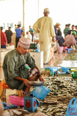 Fishes at Muttrah Fish market, Muscat 3