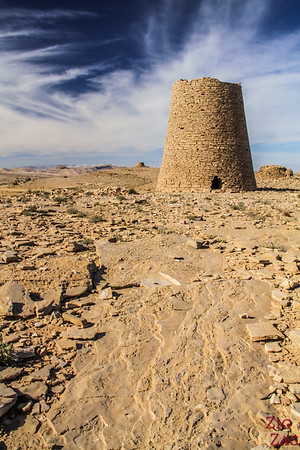 Tombs on Salmah Plateau - Oman 4