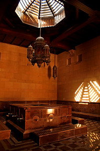 The abolution room (for washing before the prayer)