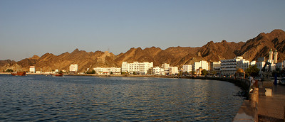 Seafront in Muscat