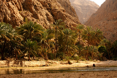 Hiking into the Wadi
