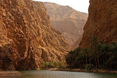 Entrance to the Wadi Shab