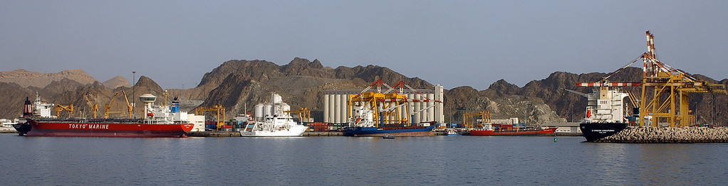 Port in Muttrah
