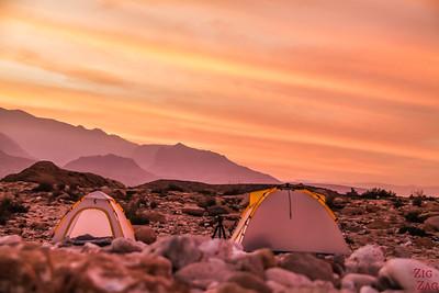 Accomodation camping - PLan trip to Oman