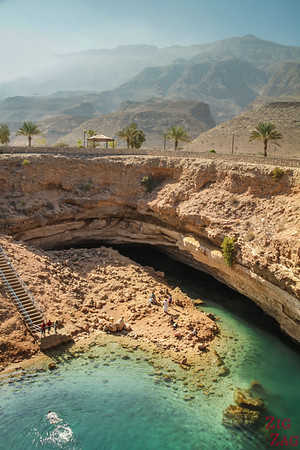 Bimmah Dabab Sinkhole, Oman - views from the rim 6