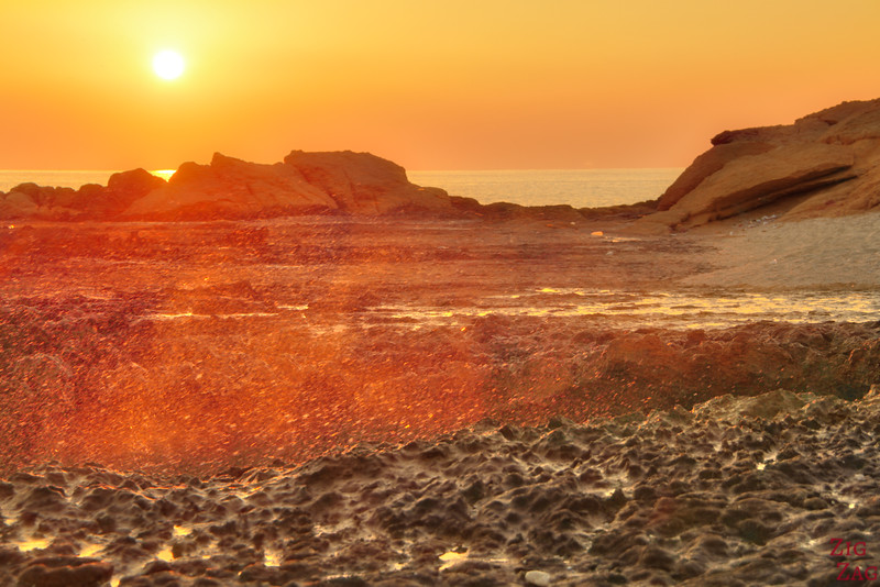 Omani beach sunrise 3