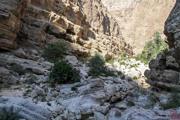 Oman Wadi Shab Wanderung 7