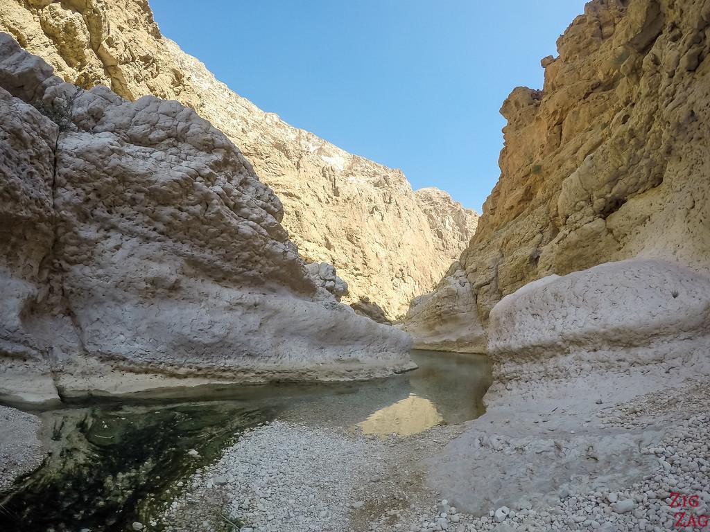 Swimming in Wadi Shab - Oman 8