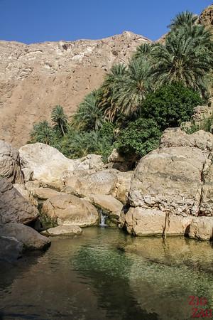 Oman Wadi Shab Wanderung 8