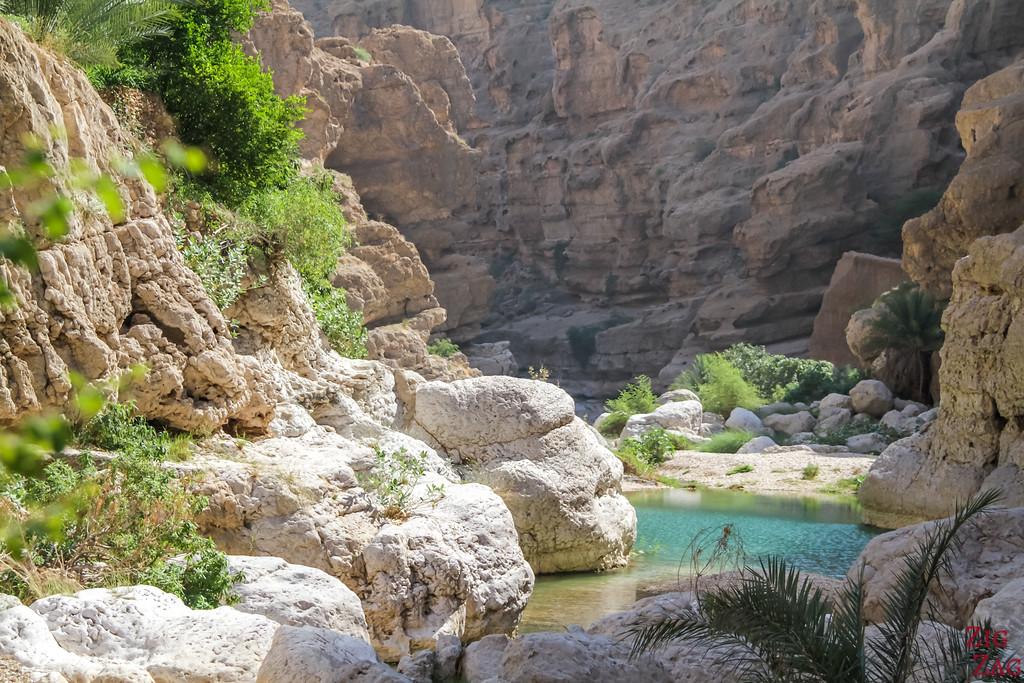 Hiking Wadi Shab - Oman 13