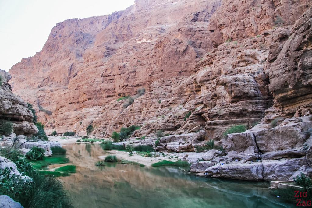 Hiking Wadi Shab - Oman 3