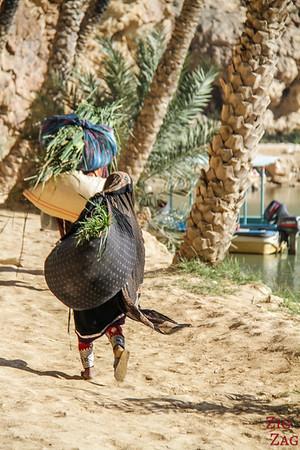 Wadi Shab locals