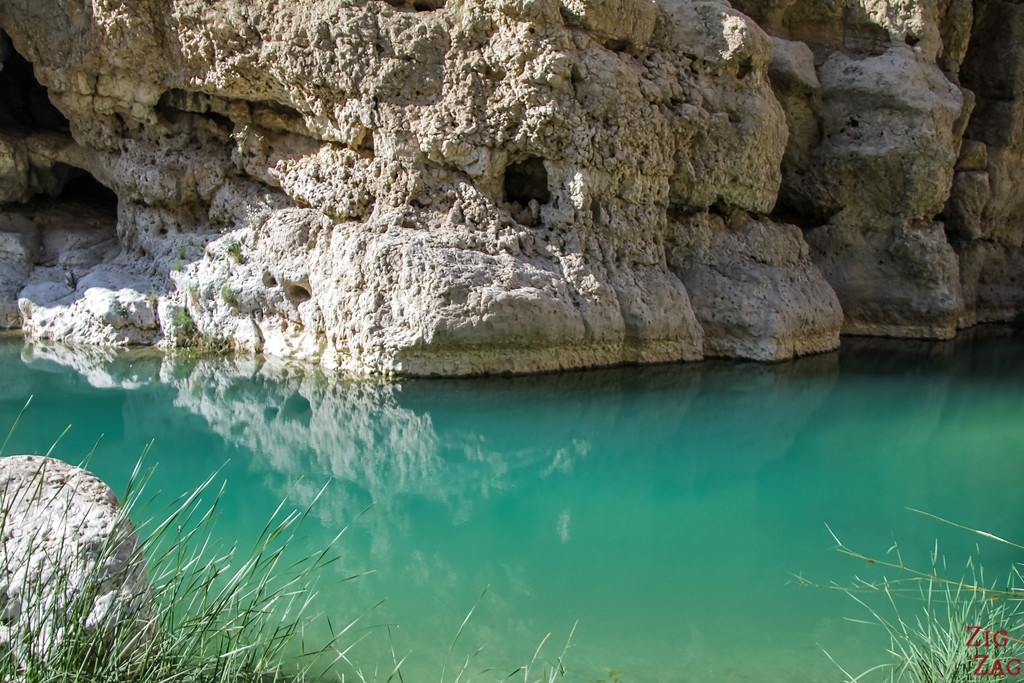 Hiking Wadi Shab - Oman 9