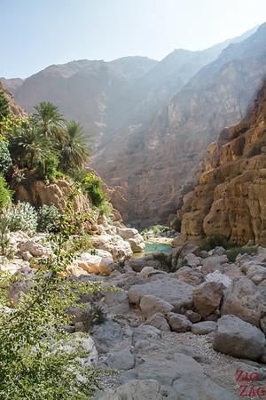 Oman Wadi Shab Wanderung 12