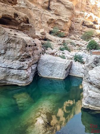 Oman Wadi Shab Wanderung 6