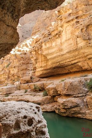 Oman Wadi Shab Wanderung 5