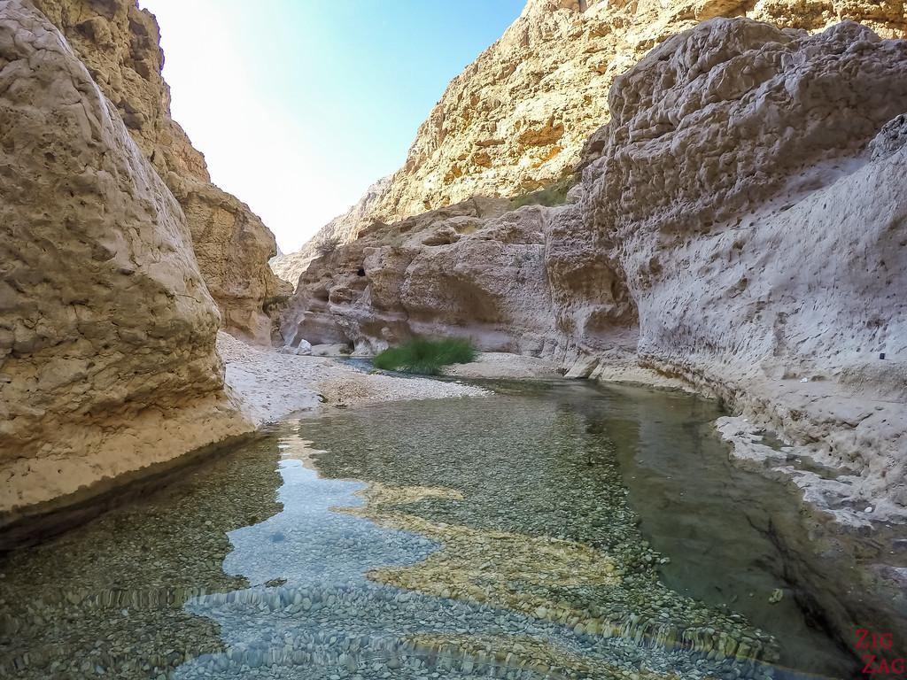 Swimming in Wadi Shab - Oman 4