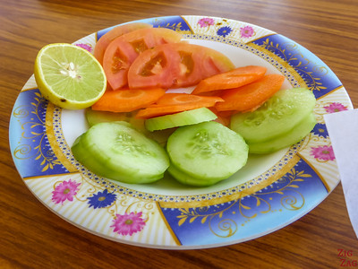 Food in Oman - salad