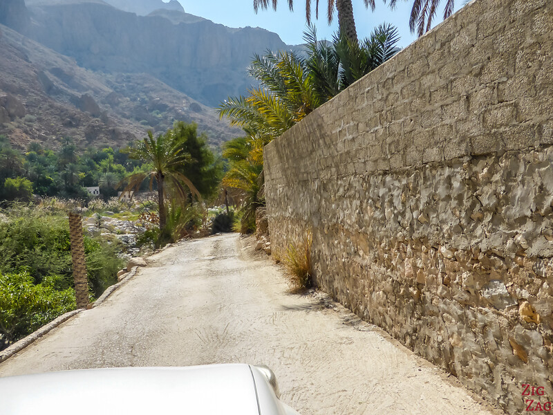 Driving in Wadi Tiwi Oman 2