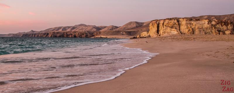 Der Ras Al Jinz Strand Oman