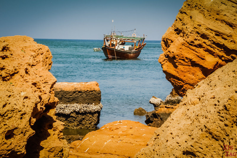 dhow boot Sur Oman