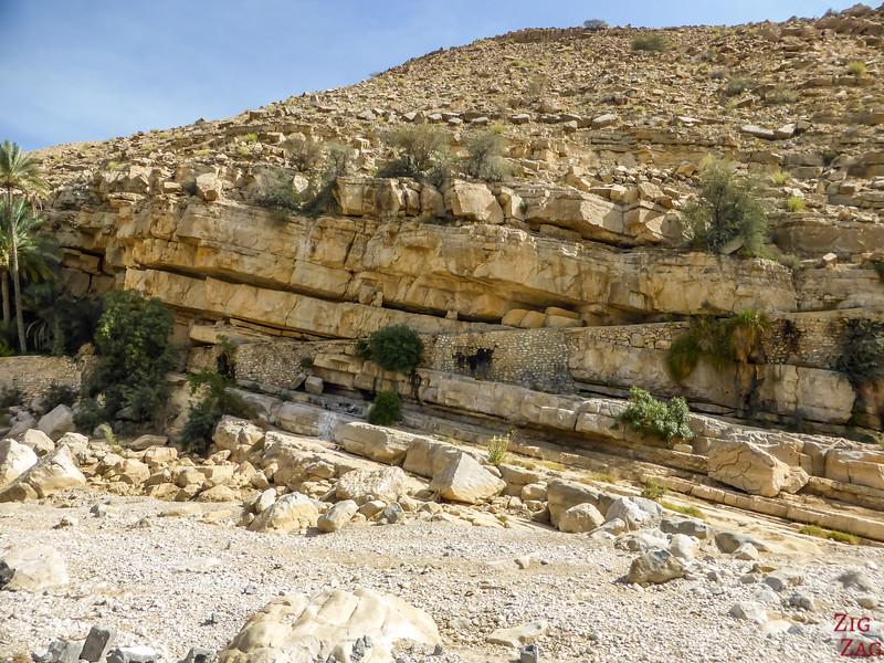 Wadi Bani Khalid - lit de la rivière 2