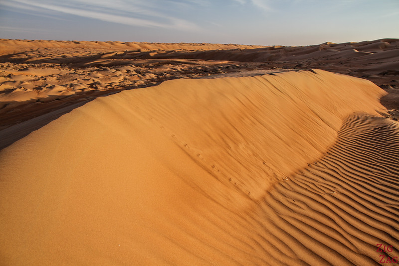 Dunes at Sunset - Wahiba Sands Oman 1