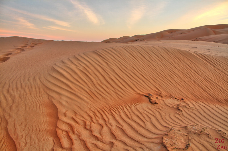 Wahiba Sands desert sunset 3