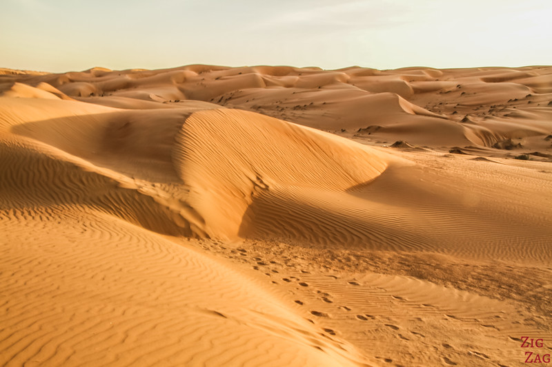 Dunes at Sunset - Wahiba Sands Oman 2